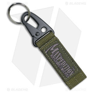 Maxpedition Keyper OD Green Key Retention System w/ Quick Release 1703G