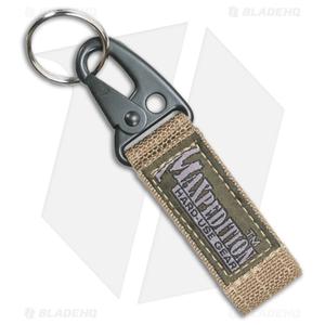 Maxpedition Keyper Khaki Key Retention System w/ Quick Release 1703K