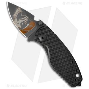 "DPx HEAT/F Triple Black Mr. DP Edition Frame Lock Knife G-10/Ti (2.375"" Black)"