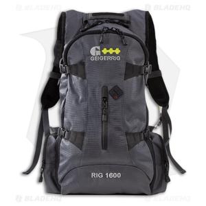 Geigerrig RIG 1600 Gunmetal Citris Hydration Pack w/ 100 oz. Bladder