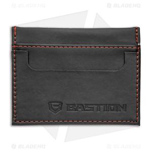 Bastion Minimalist Wallet PU Leather - Black