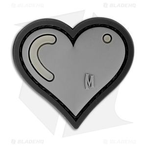 """Maxpedition 1.61"""" x 1.5"""" Heart Patch PVC (Swat)"""