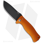 LionSteel-Knives-SR1-Al-Knife-Orange-Aluminum-Folding--3.7--Black-Plain-