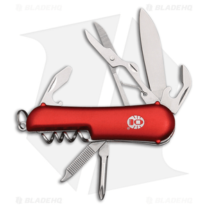 "Coleman Ember II Slip Joint Pocket Knife 2.50"" Red Aluminum CMN1084"