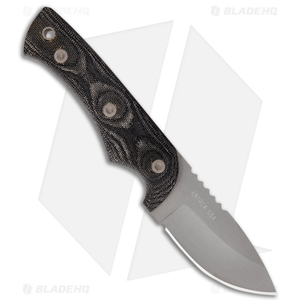 "Entrek Mink Fixed Blade Knife (3.00"" Gray)"