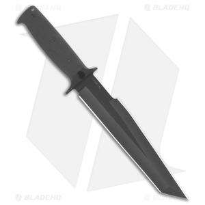 "EnTrek USA Strike Eagle Fixed Blade Knife (9"" Black)"