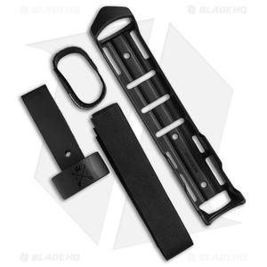 "Morakniv Garberg Fixed Blade Knife Black w/ Multi-Mount Sheath (4.25"" Black)"