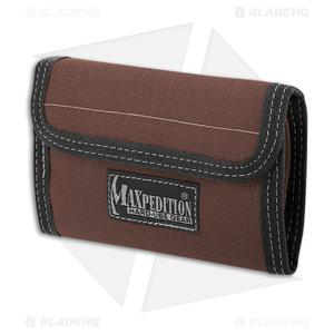 Maxpedition Spartan Dark Brown Wallet 0229BR