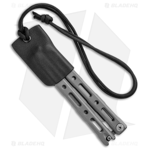 Linos Kydex Sheath for Benchmade 87 Balisong Series Knife w/ Neck Cord