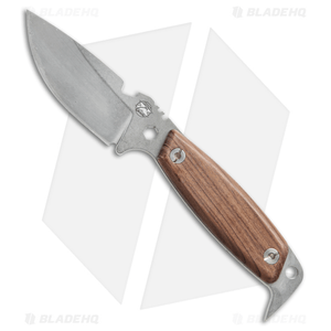 """DPx H.E.S.T II Woodsman Survival Knife Numbered Run w/ Zippo (3.15"""" Stonewash)"""