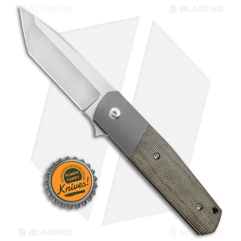Alliance-Designs-Laconico-EZE-Knife-Green-Micarta-Bolsterlock--3--Satin---