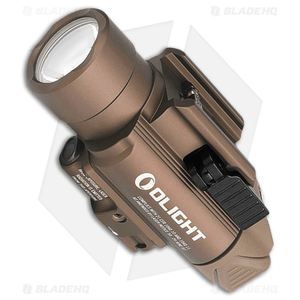 Olight BALDR-Pro Tactical Kit LED Flashlight + Weapon Mount Desert (1350 Lumens)