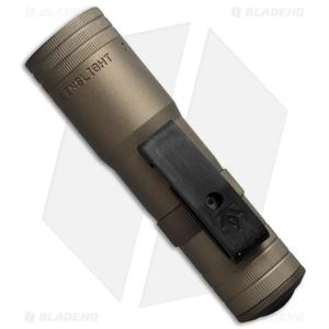LensLight Mini Tan Dual-Output Flashlight Smooth Bezel (Default High) LLMT-3S