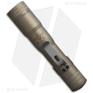 LensLight KO Tan Dual Output Flashlight Smooth Bezel - LLKOT-2S