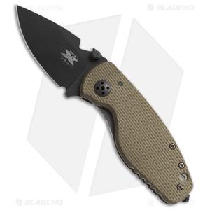 "DPx HEAT/F Frame Lock Knife OD Green G-10 Titanium (2.375"" Black)"