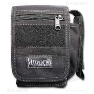 Maxpedition H-1 Waistpack Black Hybrid Sheath/Pocket Bag 0316B