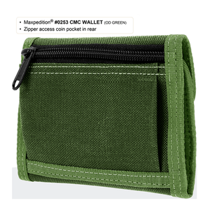 Maxpedition CMC Wallet Khaki 0253K
