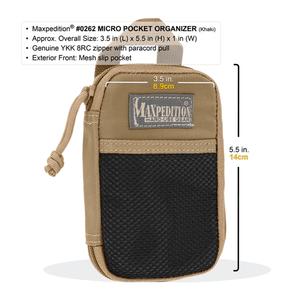 Maxpedition Micro Pocket Organizer Khaki 0262K