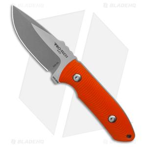 "Pro-Tech George SBR Fixed Blade Knife Orange G-10 (2.9"" Two-Tone) Kydex Sheath"