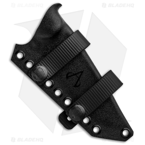 Armatus Carry Ka-Bar Short Becker BK16 Architect Sheath Flat Black Kydex