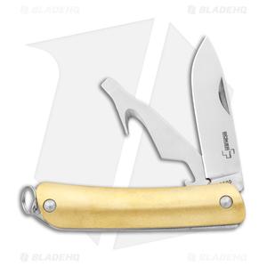 Boker Plus Mini Tech Tool  2 Multi Tool Brass (4-in-1)