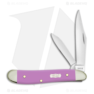 Case Teardrop Pocket Knife Lilac Ichthus Synthetic (TB41028 SS) 39165