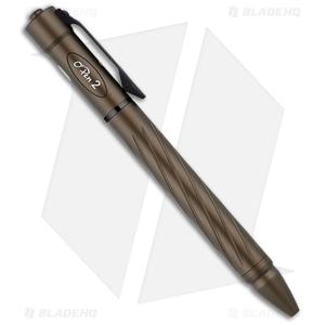 Olight O'Pen 2 Flashlight Pen Desert Tan Aluminum (120 Lumens)