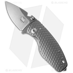 "DPx HEAT/F Frame Lock Knife 3D Titanium (2.375"" Stonewash) - Limited Edition"