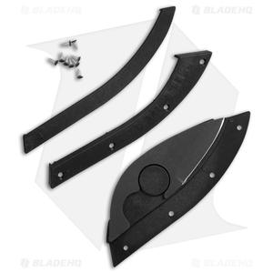 "Bill Blade Hat Knife Fixed Blade (1.8"" Black) 001BK"