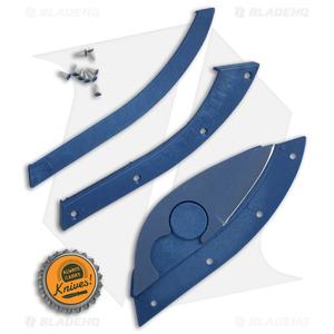 "Bill Blade Hat Knife Fixed Blade (1.8"" Blue) 001BL"