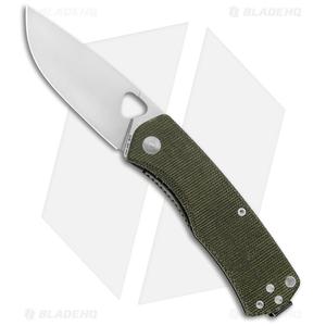 "James Brand The Folsom Liner Lock Knife OD Green Micarta (2.75"" Satin VG-10)"