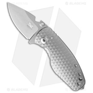 "DPx HEAT/F Frame Lock Knife 3D Titanium (2.375"" Stonewash)"