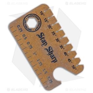 Audacious Titanium Dog Tag Tool Anglefinder V3 - Bronzed