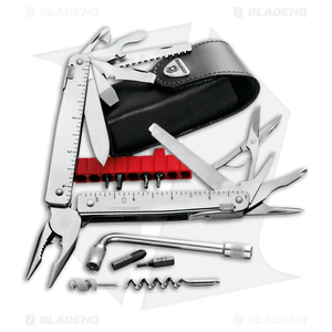 Victorinox Swiss Army SwissTool CS Plus + Leather Sheath 53946