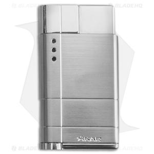 Xikar Cirro High Altitude Single Flame Lighter (Silver) 522SL