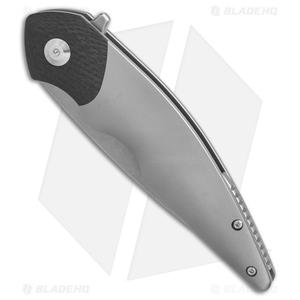 "VDK Pioneer of The Nile Frame Lock Knife Ti/CF (4"" Stonewash)"