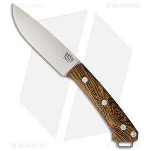 "Bark River Fox River Fixed Blade Knife Bocote Wood (4"" CPM-3V)"