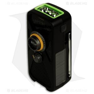 Eton FRX2 Hand Turbine AM/FM/Weather Radio w/ USB Charger & Light (Black)