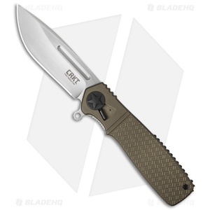 "CRKT Homefront Field Strip Knife (3.5"" Satin) K270GKP"