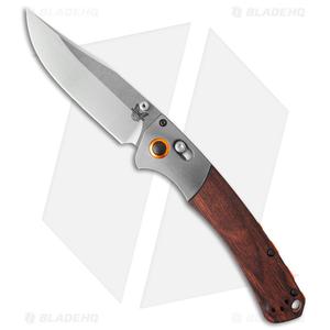 "Benchmade Hunt Crooked River AXIS Lock Knife Dymondwood (4"" Satin) 15080-2"
