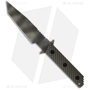 "Strider WB MOD 10 Tanto Knife w/ OD Gunner Grip (3.25"" Tiger Stripe)"