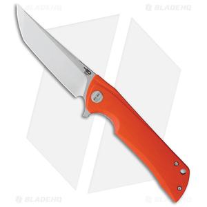 Bestech Knives Tanto Paladin Lock Liner Knife Orange G-10 (3.6 Satin D2)