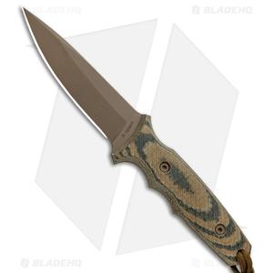 "Spartan Blades Harsey TT Fixed Blade Knife Multi-Cam Micarta (4.5"" FDE)"