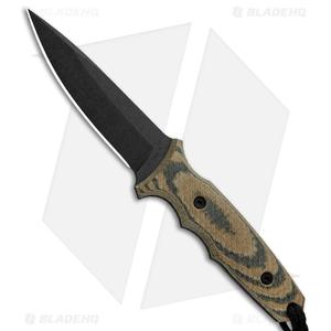 "Spartan Blades Harsey TT Fixed Blade Knife Multi-Cam Micarta (4.5"" Black)"