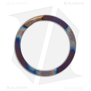 TiSurvival 32mm Titanium Split Ring - Polished Hot Spot