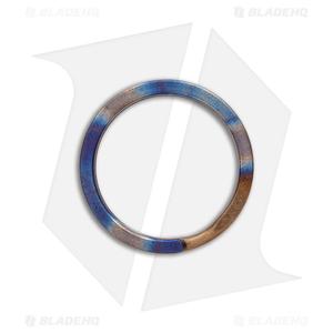 TiSurvival 25mm Titanium Split Ring - Polished Hot Spot