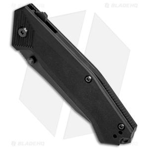 "Steel Will Knives Onrush 632S Tactical Liner Lock Knife (3.75"" Black Serr)"