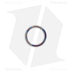 TiSurvival 14mm Titanium Split Ring - Polished Hot Spot