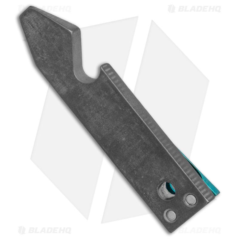 TiSurvival-Exo-Titanium-Pry-Bar---Bottle-Opener-Pocket-Tool---Green-Anodized