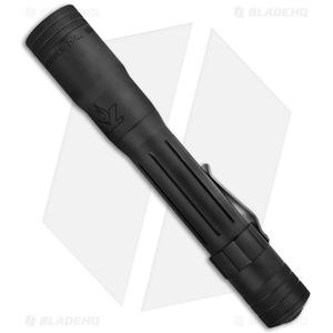 LensLight 3x123 Triple-Output Flashlight Black Smooth Bezel (850 Lumens)